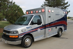 Rapid Response EMS Ambulance